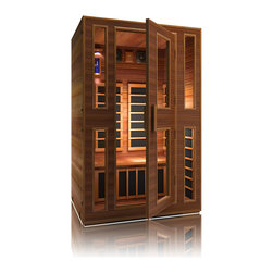 JNH Lifestyles - JNH Lifestyles Freedom 2 Person Far-Infrared Sauna - Product Description