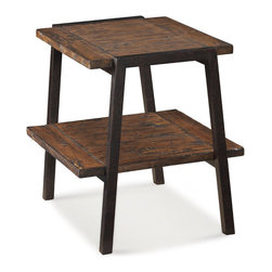 Magnussen - Magnussen Lawton Rectangular End Table in Natural Pine - Magnussen - End Tables - T202103
