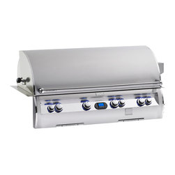 Fire Magic - Echelon E1060i-4A1N Diamond Digital Built In LP Grill - E1060 Built In with 110 VAC/12 Volt Hot Surface Ignition, Rotisserie Backburner, Digital Thermometer & Infrared Burner SystemFeatures:Sleek lines and contoured control panel with rounded edges and mirrored highlights