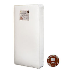 AFG Baby - AFG Baby 96 P!oil Mattress - 96 Heavy 13.5 Gauge Steel Coils with border wire for firm support. Features a vinyl cover with cloth binding for tear and water resistance. Meets and exceeds all federal and state flammability standards. Mattress fits toddler beds. Made in the USA.