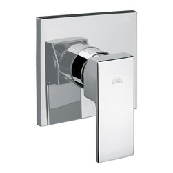 WS Bath Collections - Level Concealed Shower Faucet w Diverter (Mat - Finish: Matte ChromeConcealed Shower Mixer. With Diverter. Made in Italy. Finish/Color: Polished Chrome. Dimensions: 4.3in. W x 4.3 in. H