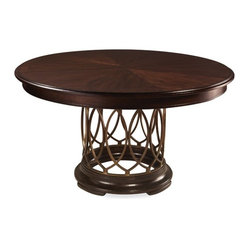 ART Furniture - Intrigue Round Dining Table - ART-161225-2636TP-2636BS