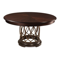 ART Furniture - Intrigue Round Dining Table - ART-161225-2636TP-2636BS - Intrigue Collection Dining Table