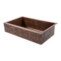 Premier Copper Products 35 Quot Retrofit Kitchen Apron Sink