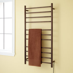 """24"""" Caden Plug-in Towel Warmer - Keep all of your towels luxuriously warm and fresh with the 24"""" Caden Plug-In Towel Warmer, the ultimate comfort on a chilly morning."""