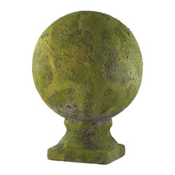 Cyan Design - Cyan Design Sculptural Large Mossy Garden Sphere X-56010 - Large Mossy Sphere