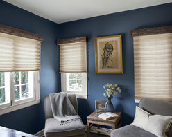 """Smith & Noble Classic 1 7/8"""" Pleated Shades - Tailored pleats never go out of style, which is why designers return again and again to our Classic Pleated Shades and OptiPleat Shades. Their crisp, accordion-style folds add movement and structure to windows. Handcrafted in the USA. Pleated Shades are shipped in 5 business days. Starting at $87"""