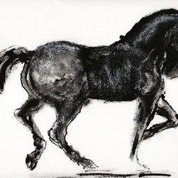"""""""Incitatus"""" Artwork - Roman stallion"""