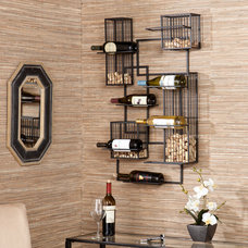 Eclectic Wine Racks by Southern Enterprises, Inc.