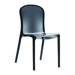 Siesta - Victoria Polycarbonate Modern Dining Chair (set Of 2) - *Made from unbreakable polycarbonate.