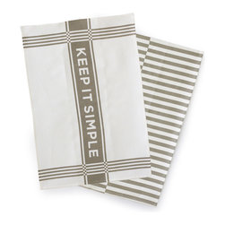 Fall 2014 - Who doesn't like stripes? Keep it simple with these linen tea towels that are 100% linen, eco friendly and made of flax!