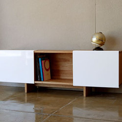 Lax Series Freestanding Shelf by Mash Studios