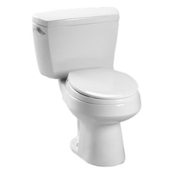 Toto - Toto CST715 Cotton White Carusoe Toilet 1.6 GPF - The Carusoe collection from Toto offers a classically styled look that will complement any home decor.