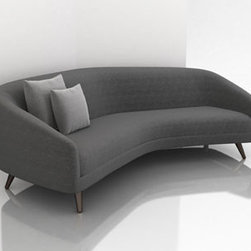 Profile Sofa - This sofa by Weiman Preview is based on a midcentury design by Vladimir Kagen, updated with his permission.