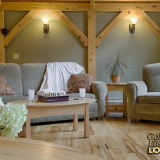 Rustic  by Golden Eagle Log Homes