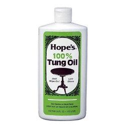 The Hope Company - The Hope Company 1 Gallon 100% Tung Oil (2 Pack) (128TO2) - The Hope Company 128TO2 1 Gallon 100% Tung Oil (2 Pack)
