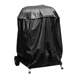 "Mr Bar B Q - Kettle Grill Cover - Mr. Bar-B-Q Kettle Grill Cover 30""x29"". Water resistant exterior layer and soft lining helps strengthen and protect. Fits most kettle style charcoal grills. All environmentally friendly materials and packaging NO PVC used."