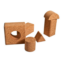 The Felt Store - Cork Toy Create - The Felt Store's Cork Toy Create is an eco-friendly toy that is perfect for all ages! Encourage your kids to make towering structures, learn to match blocks, about shapes and texture! The Cork Toy Create is a fun , interactive and environmentally friendly product that will keep your kids entertained for hours! All of the edges are rounded or made smooth to limit any chances of abrasion. This product is made from 100% Fine Grain Cork and is the natural brown cork colour. Each package contains 20 pieces. This can be wiped clean with a damp cloth.