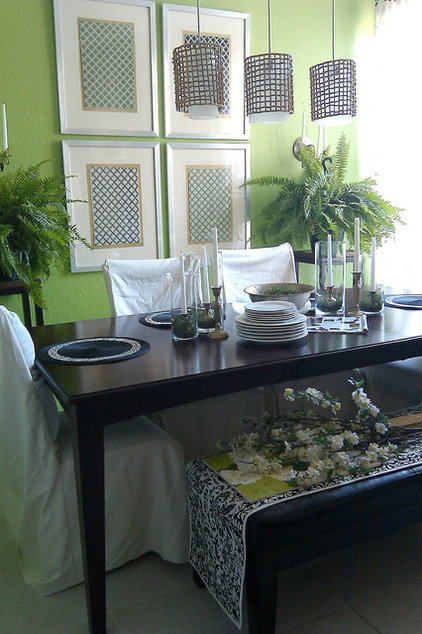 Contemporary Dining Room by FOCAL POINT STYLING