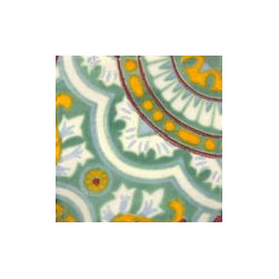 Handpainted Ceramic Grand Tile Collection - Item TG016