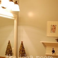 How to Frame in a Mirror–DIY - The Idea Room
