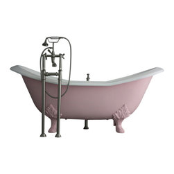 "Penhaglion - The Mount Grace 73"" Long Cast Iron Tub Package from Penhaglion - Product Details"