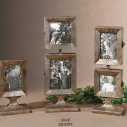 "19286 Kimie, Photo Frames, S/3 by uttermost - Get 10% discount on your first order. Coupon code: ""houzz"". Order today."