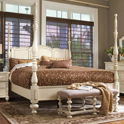 Queen Savannah Poster Bed, Paula Deen Home -