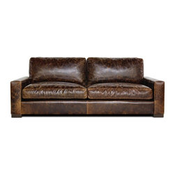 Madrid Leather Sofa by Jaxon Home - Jaxon Home