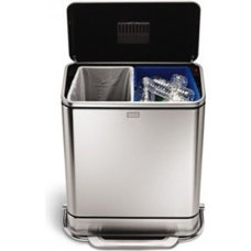 Contemporary Trash Cans by simplehuman