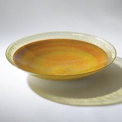 "Global Views Centerpiece Bowl Citron - 19""Dia. x 4""H"