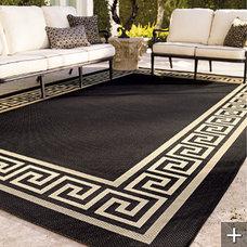 mediterranean outdoor rugs by FRONTGATE