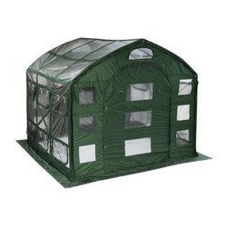 Flowerhouse - Flowerhouse 9' Farm House Easy Pop-Up Greenhouse (FHFH700CL) - Flowerhouse FHFH700CL 9' Farm House Easy Pop-Up Greenhouse