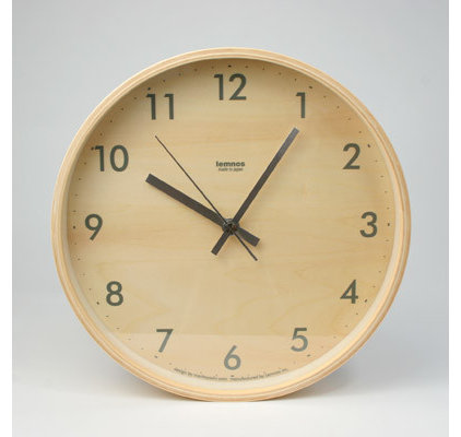contemporary clocks by Canoe