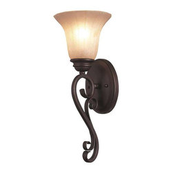 Trans Globe Lighting - Trans Globe Lighting 21051 ROB Wall Sconce In Rubbed Oil Bronze - Part Number: 21051 ROB