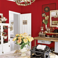 traditional home office by The Lettered Cottage