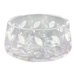 Dale Tiffany - Dale Tiffany GA80043 Lavender Leaf Bowl - Dimensions: W 8.5 x L 8.5 x H 4.75