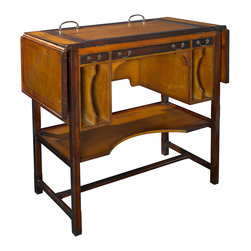 Authentic Models - Authentic Models MF087 Bureau Architecte, Tall - Architects were once skilled draftsmen and graceful calligraphers, able to draw a crisp and perfect line on virgin drafting stock. They worked at a classic architect's desk crafted of precious woods, with an adjustable work surface tilted to an individualized angle. Usually they would stand, lounge, and lean on the tall desk, discarding the chair or replacing it with a tall, narrow stool. In our day and age, we have done away with the standing desk. We hammer away at keyboards for days on end, slumped in a desk chair. Actually, a recent scientific study showed that working at a standing desk all day equals the exercise provided by a robust morning workout. Coming in two heights, our unusual and attractive architect desk is designed with many practical features, including extended side flaps, vertical folder slots, and subtle, yet highly functional drawers. Most exciting, its adjustable work surface contributes to a completely new work experience.