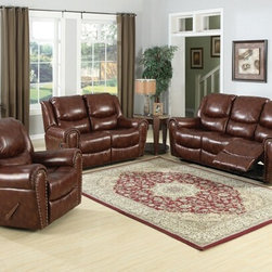 AC Pacific 2 Pc Sheldon Brown Colored Leather Like