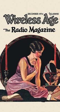 "Buyenlarge.com, Inc. - Wireless Age: December 1924 - Canvas Poster 20"" x 30"" - Radio, TV. Wireless, Telegraph, Television"