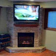 Modern Indoor Fireplaces by Hearth & Home Inc