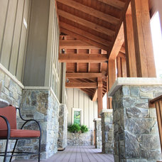 Rustic  by Ruebl Builders LLC
