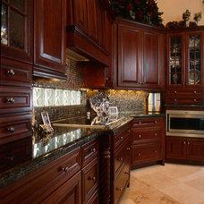 Traditional Kitchen Cabinets by Ervolina Associates Inc