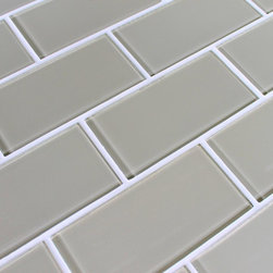 Rocky Point Tile - Sheep's Wool Glass Subway Tiles - You're on the right track when you decide to add these exceptional subway tiles to your home. They allow you to take your space in a new direction, where the final stop is subtle sophistication.