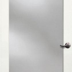 Authentic Wood Doors - Primed Glass Door 1-Lite