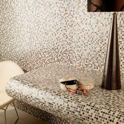 Jaipur - Dune - mosaic tile - Mix of stone, glass, and metal for a fresh, earthy look.  Find a dealer near you by contacting psmith@duneusa.com.