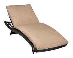 TKC - Tahiti Chaise Set of 2 - Outdoor Wicker Patio Furniture - -Custom hand woven all-weather, full round, high density, PE (polyethylene) wicker