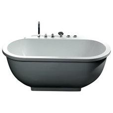 Modern Bathtubs by Steam Showers Inc
