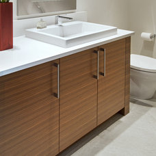 Contemporary Bathroom by Old World Kitchens & Custom Cabinets