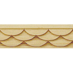 "Inviting Home - Marietta Carved Wood Molding - Wood panel molding 1""H x 1/2""P x 8'00""L sold in 8 foot length 4 piece minimum order required Wood panel molding specifications: Outstanding quality molding profile carved from high grade kiln dried solid European beech wood. High relief decorative design is machine carved. Wood molding is sold unfinished and can be easily stained painted or glazed. The installation of the wood molding should be treated the same manner as you would treat any wood molding: all molding should be kept in a clean and dry environment away from excessive moisture. acclimate wooden moldings for 5-7 days. when installing wood moldings it is recommended to nail molding securely to studs; pre-drill when necessary and glue all mitered corners for maximum support."